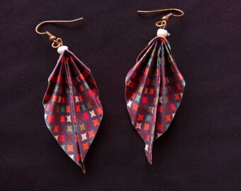 origami #15 earrings