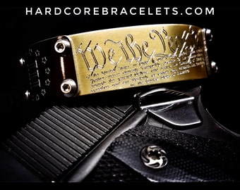 "HardCore ""We The People"" Bracelet"