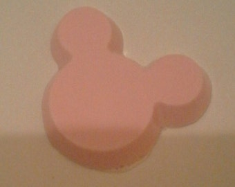 shaped rose scented soap