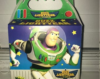 Buzz Lightyear Treat Loot Boxes---10 Count Party Favors Supplies