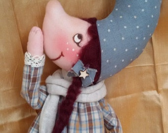 The MOONLIGHT collectible cloth doll