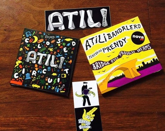Pack Limited Edition Compact Disc : Bridge Over Troubled Dreams & Closed Circuit (Atili Bandalero feat Prendy)
