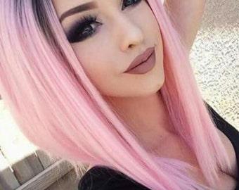 "Pulp Riot hair color ""Blush"" Light pink vegan semi permanent dye"