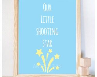 Printable Nursery Art, Nursery Printable, Baby Shower gift, Wall Decor