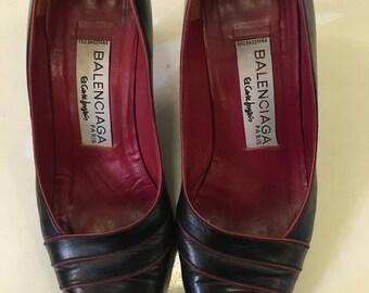 Blue Balenciaga Shoes