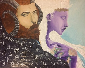 Wicken god and goddess