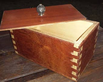 Engineered Brazilian Cherry Keepsake box