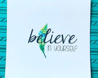 Keepsake Kard: Believe