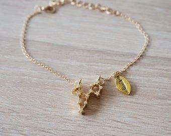 PISCES Constellation, bracelet fish, Zodiac, Constellation Bracelet Birthday Gift Zodiac Jewelry bracelet gold