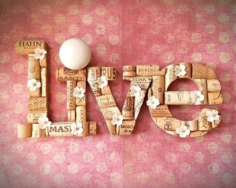 "Corked ""live"" Wall Decor"