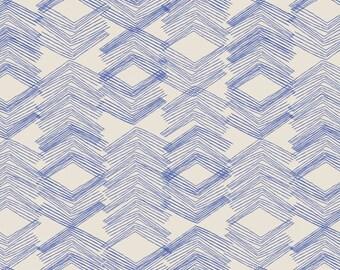 Art Gallery fabric- limestone feel indigo knit -knit fabric -art gallery knit -indigo knit fabric -limestone knit-Art gallery limestone feel