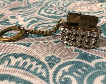 Vintage Mini Rhinestone Lighter
