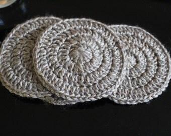 Circular Crochet Coaster