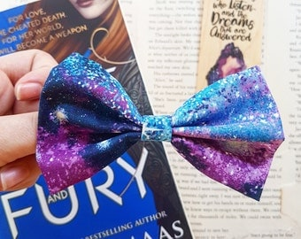 Night Court inspired hair bow | FloralinkBows