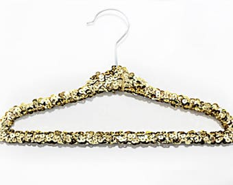 FREE SHIPPING || Baby sequin hangers || available in 9 different colors ||