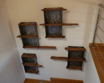 Modular bookcase 4 Breis