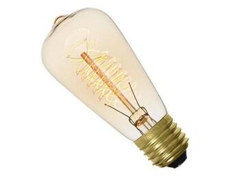 Bulb E27 60W T48A edison vintage