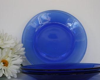 Dessert Plates, Cobalt Blue