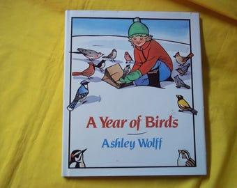 A Year of Birds by Ashley Wolff