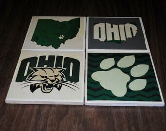 Ohio University Coasters (Custom)