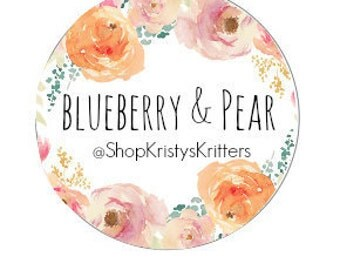 Blueberry Pear Dog Treats Dog Biscuits