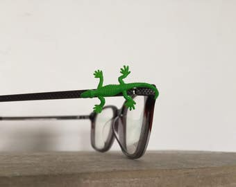 GREEN LIZARD festival eyeglass bling