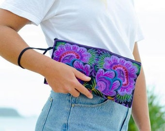 Small Clutch - Purple