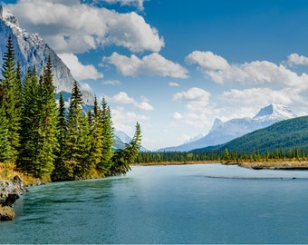 Jasper National Park Print, Jasper Wall Art, Alberta Canada, Canada Wall Art, Canada Photography, Lake Art, Décor