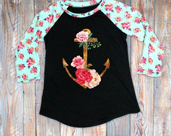 Personalized Floral Shirt