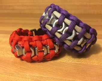 Hexnut Survival Bracelets