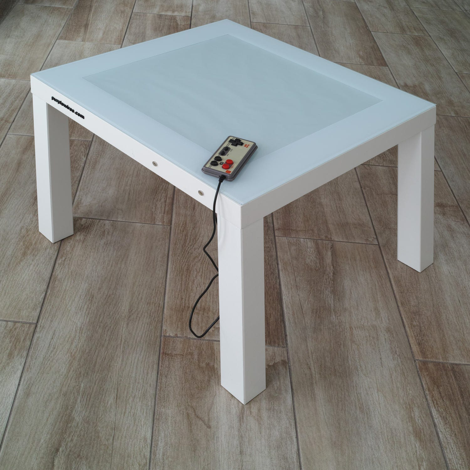 LED Tetris Table Retro Game Console Interactive Table