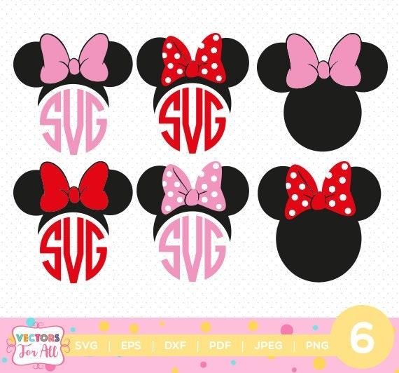 Minnie Mouse Ears Mono...