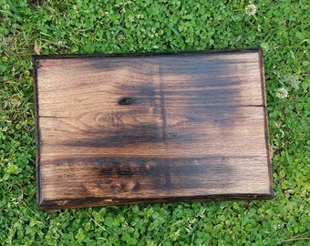 Fire Wood, Scorched, Cutting Board.