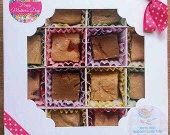 Handmade Crumbly Fudge - Traditional Recipe - Made to Order - Gift Boxed for Mum on Mother's Day
