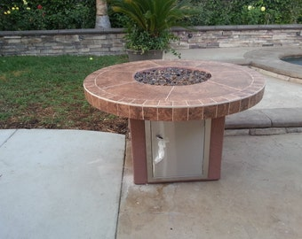 4' Outdoor Firepit Table