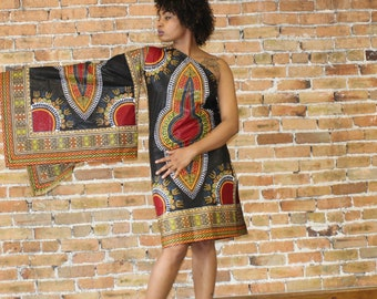 Alicia Dashiki Dress