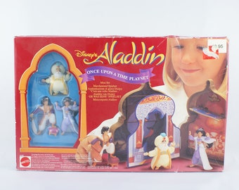 1993 Disney's Aladdin Once upon a time Playset New and unopened in the box