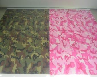 Siser EasyPattern HTV 12x18 Military Camo Vinyl