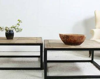 Coffee Tables, Industrial chic, Reclaimed wood, Tables, Benches