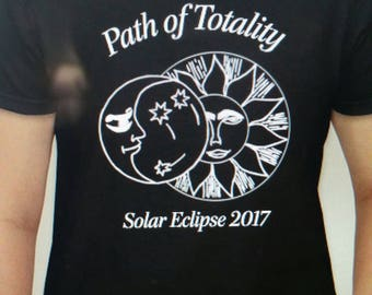 Path of Totality Solar Eclipse 2017 Shirts