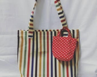 This is shopping bag . I do it myself cute and easy to use.