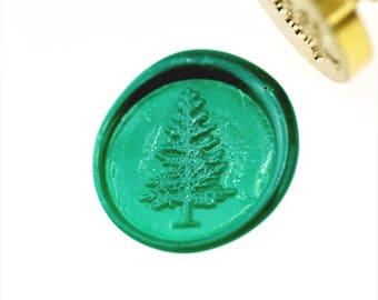 Pine Tree  Wax Seal Stamp/Wax sealing kit /SS004