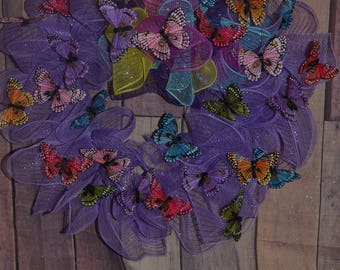 Butterfly Love Wreath