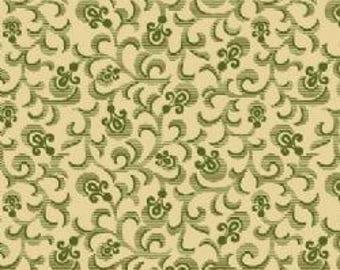 Marcus Fabrics Vintage Rouge Faye Burgos R25 4388 0116        -- 1/2 yard increments