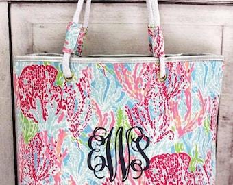 Floral print bags!