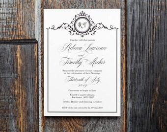 Monogram, Wedding Monogram, wedding invitations, Wedding Invites uk, invitations uk, monogrammed, Invitation, printable wedding, invites UK