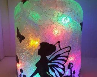 Fairy lantern with battery operated lights
