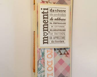 To DO LIST handy block for shopping list and to-do more pen holder