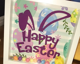 Happy Easter Bunny Frame - Easter Gift - Gifts For Easter - Last One