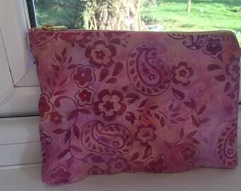 Small zipper pouch, make up bag